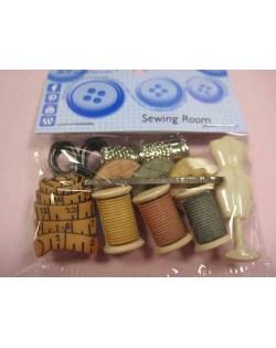 Botones costura
