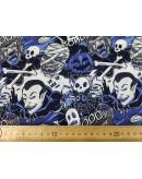 Tela personajes terror (25x145 cm.)