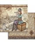 """Colección Lady Vagabond (12""""x12"""") Stamperia"""