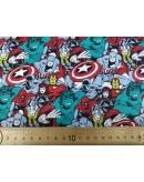 Tela Superheroes (25x110 cm.)