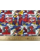 Tela Spiderman (25x110 cm.)