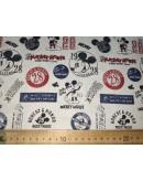 Tela Mickey Vintage (25x150 cm.)