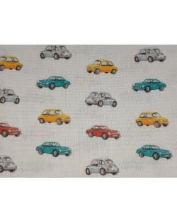Tela coches Vintage (25x150 cm.)