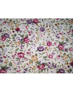 Tela flores (25x110 cm.)