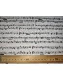 Tela Partituras (25x150 cm.)