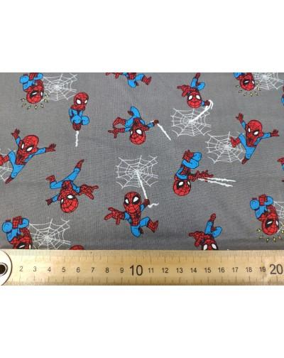 Tela Spiderman mini  (25x110CM)