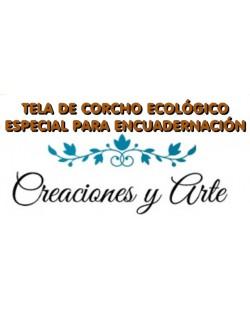 Tela de corcho ecologico Creaciones y Arte 100x45 cm.