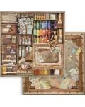 """Colección Atelier des Arts (12""""x12"""") Stamperia"""