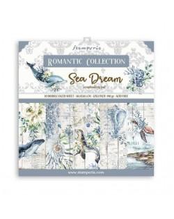"""Colección Romantic Sea Dream (12""""x12"""") Stamperia"""