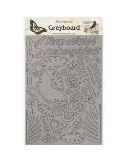 A4 Greyboard/2 mm - Amazonia tucán