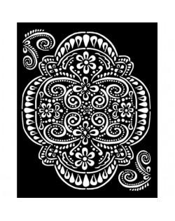 Stencil grueso 20x25 cm - Atelier encaje