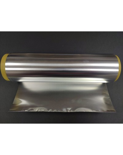 Aluminio para repujar color plata