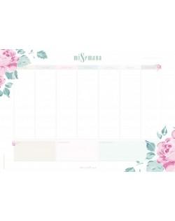 Planificador semanal Esencia Marisa Bernal