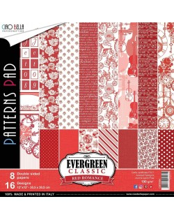 Basicos Evergreen,Rojo romance