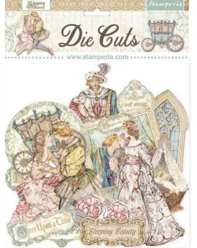 Die cuts surtido - Sleeping Beauty