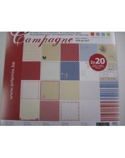 Bloc 40 hojas scrap campagne
