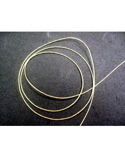 Cordon fino imitacion cadena color dorado