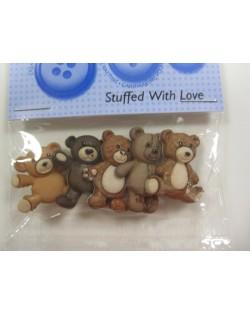 Botones osos