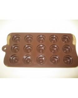 Molde de silicona bombones clasicos