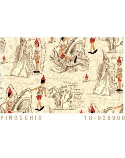 Papel Cartonaje Pinocho