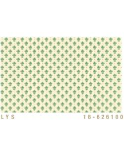 Papel Cartonaje Flor de lis verde