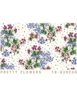 Papel Cartonaje flores bonitas