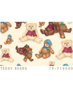 Papel Cartonaje oso de peluche
