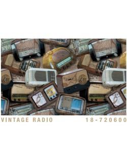 Papel Cartonaje radios antiguas
