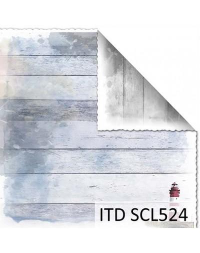 Papel scrap doble cara color y blanco/negro SCL524