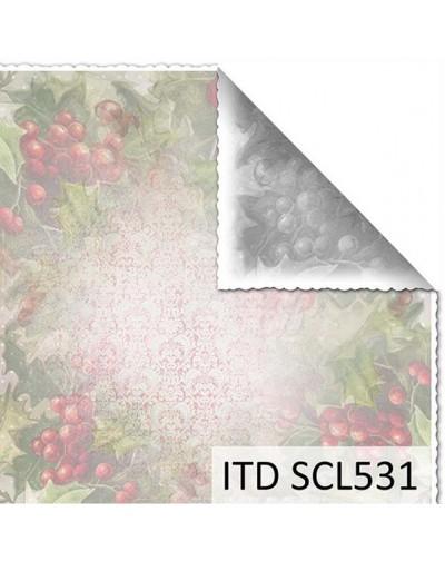 Papel scrap doble cara color y blanco/negro SCL531