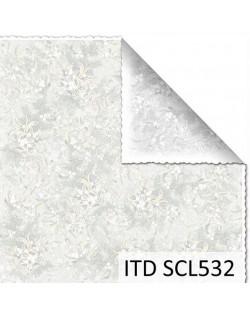 Papel scrap doble cara color y blanco/negro SCL532