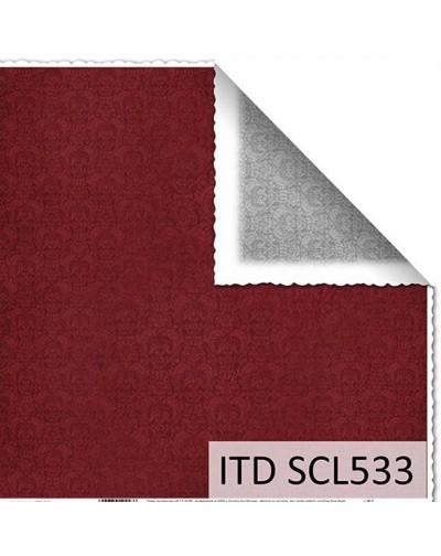 Papel scrap doble cara color y blanco/negro SCL533