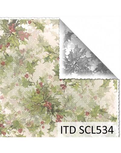 Papel scrap doble cara color y blanco/negro SCL534