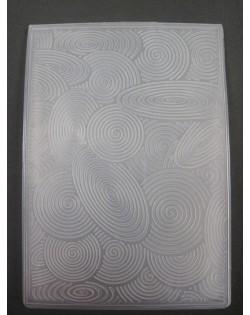 Carpeta embosing espirales