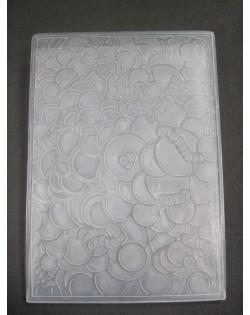 Carpeta embosing burbujas