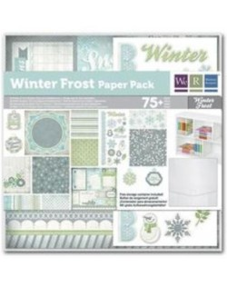 Colección papel Winter Frost We R memory keeepers