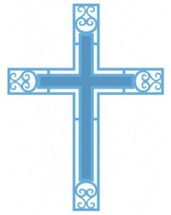Troquel cruz