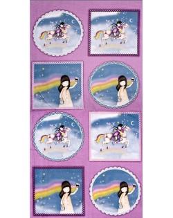 Panel Gorjus cielo arco iris