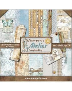 Colección papeles stamperia Atelier