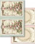 "24 Tarjetas Sweet Christmas (4,5""x6,5"") Stamperia SBBPC01"
