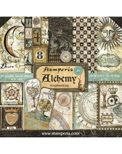 "Colección Alchemy (12""x12"") Stamperia SBBL34"
