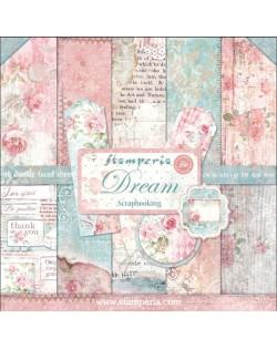 """Colección Dream (12""""x12"""") Stamperia SBBL27"""