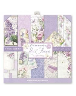 """Colección Lilac (12""""x12"""") Stamperia SBBL21"""