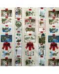 Tela postales navideñas