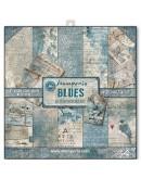 Colección papeles blues stamperia