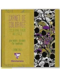 Cuaderno colorear antiestres (arteterapia)