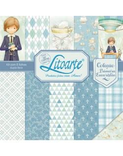 Kit De Scrapbooking Comunión Niño Litoarte