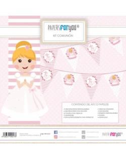 Kit especial comunión niña rubia