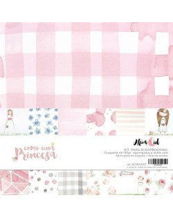 Kit papeles como una princesa (Comunion niña)