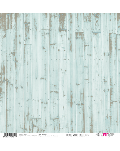 6 Papeles pastel woods PFY1057